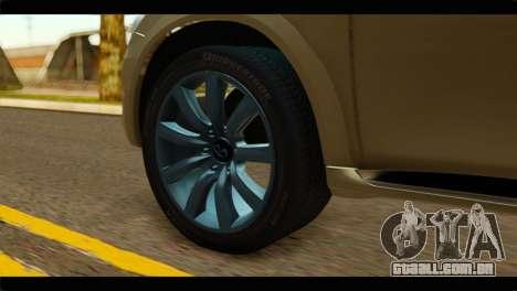 Infiniti QX56 para GTA San Andreas traseira esquerda vista