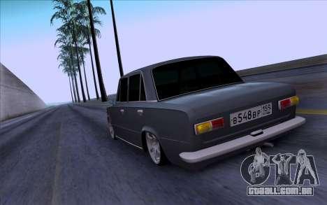 VAZ 2101 БПАN para GTA San Andreas vista traseira
