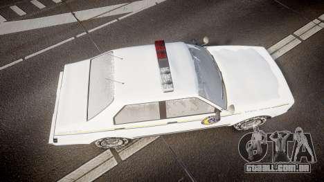 GTA V Albany Police Roadcruiser para GTA 4 vista direita