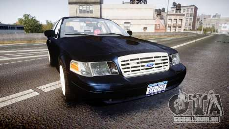 Ford Crown Victoria NYPD Unmarked [ELS] para GTA 4