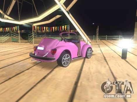 Volkswagen Beetle 1984 para o motor de GTA San Andreas