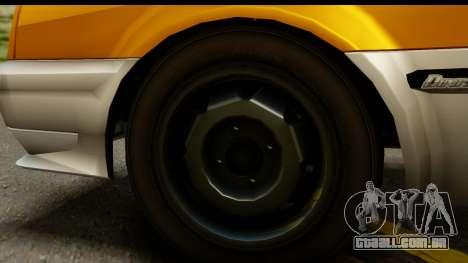 GTA 4 Blista Compact para GTA San Andreas vista traseira