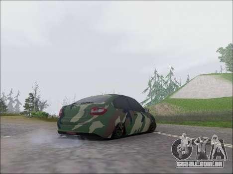 Lada Granta Liftback Coupe para GTA San Andreas vista direita