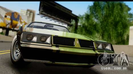 GTA 5 Imponte Phoenix IVF para GTA San Andreas traseira esquerda vista