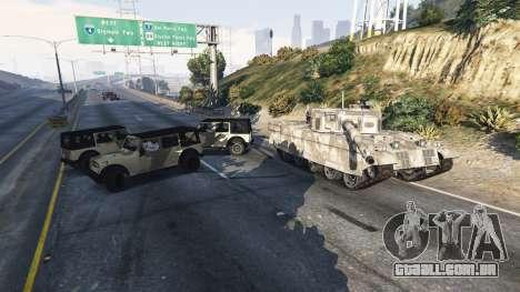 GTA 5 Soldados com 5 estrelas quarto screenshot