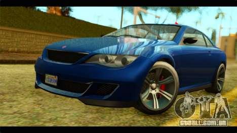 GTA 5 Ubermacht Zion XS para GTA San Andreas