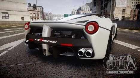 Ferrari LaFerrari 2013 HQ [EPM] para GTA 4 traseira esquerda vista
