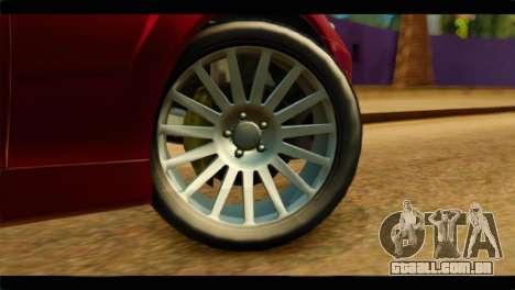 MP3 Dewbauchee XSL650R para GTA San Andreas traseira esquerda vista