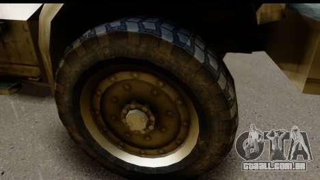 International MaxxPro MRAP para GTA San Andreas vista traseira
