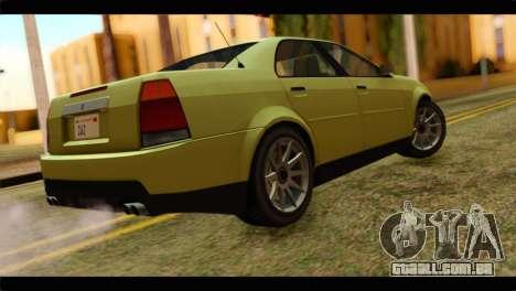 GTA 4 Presidente para GTA San Andreas esquerda vista