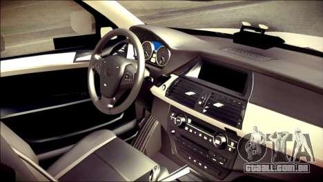 BMW X5 Kent Police RPU para GTA San Andreas vista direita