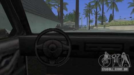 Premier Coupe para GTA San Andreas vista direita