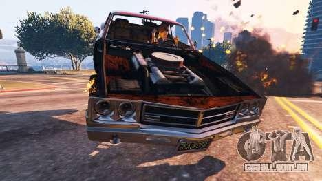 O enfraquecimento do veículo para GTA 5