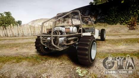 GTA V BF Dune Buggy para GTA 4 traseira esquerda vista