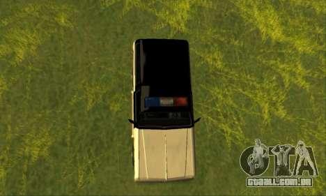 Beta Police Ranger para GTA San Andreas vista direita