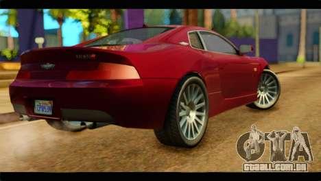 MP3 Dewbauchee XSL650R para GTA San Andreas esquerda vista