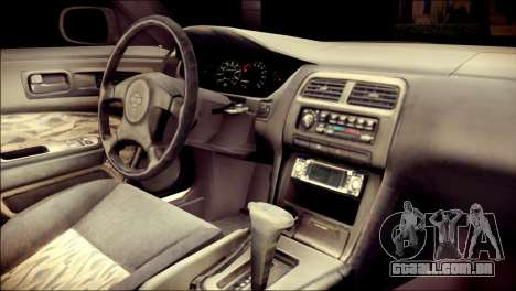 Nissan Silvia S14 Umi Sonoda Paintjob Itasha para GTA San Andreas vista direita