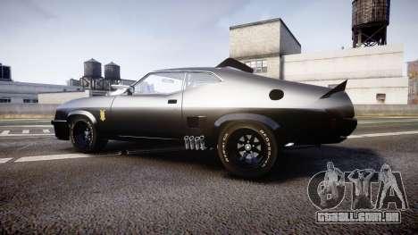 Ford Falcon XB GT351 Coupe 1973 Mad Max para GTA 4 esquerda vista