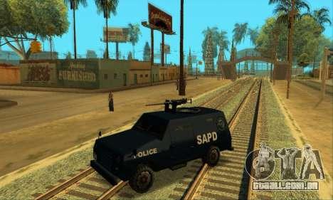 Beta FBI Truck para vista lateral GTA San Andreas