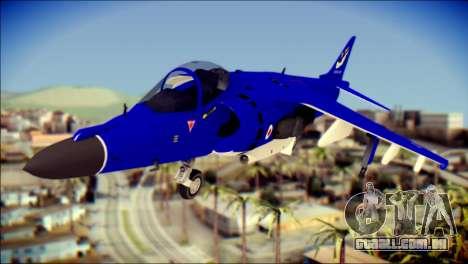 GR-9 Royal Navy Air Force para GTA San Andreas vista traseira