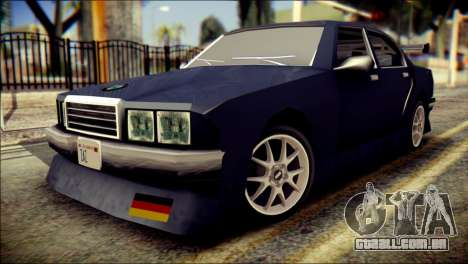 Sentinel GT para GTA San Andreas