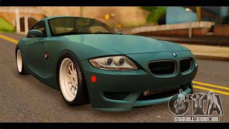 BMW Z4M Coupe para GTA San Andreas