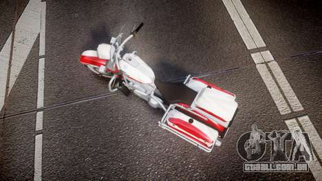 GTA V Western Motorcycle Company Sovereign POL para GTA 4 vista direita