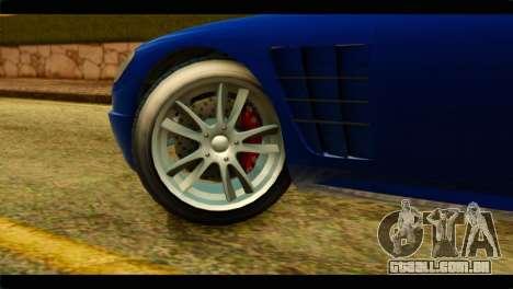 GTA 5 Ocelot F620 para GTA San Andreas traseira esquerda vista