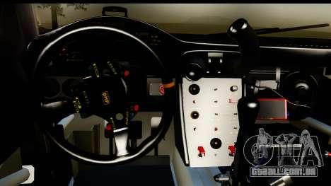 Porsche 911 GT3 RSR 2007 Flying Lizard para GTA San Andreas vista interior