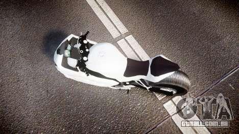 Kawasaki Ninja 250R Tuning para GTA 4 vista direita