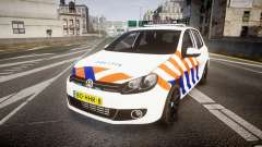 Volkswagen Golf Mk6 Dutch Police [ELS] para GTA 4