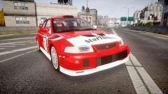 Mitsubishi Lancer Evolution VI 2000 Rally para GTA 4