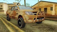 Toyota Hilux Siria Rebels without flag para GTA San Andreas
