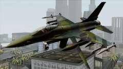 F-16C USAF CAS-EURO para GTA San Andreas