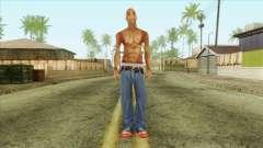 Tupac Shakur Skin v3 para GTA San Andreas