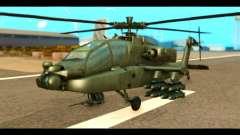 Boeing AH-64D Apache para GTA San Andreas