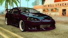 Acura RSX Hinata Itasha para GTA San Andreas