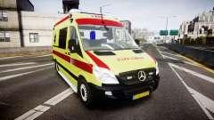 Mercedes-Benz Sprinter 311 cdi Belgian Ambulance