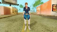 Dead Or Alive 5 LR Kasumi Fighter Force para GTA San Andreas