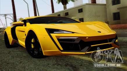 Lykan Hypersport 2014 Livery Pack 2 para GTA San Andreas