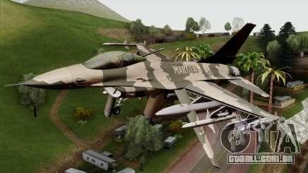 F-16C Top Gun para GTA San Andreas