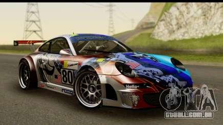 Porsche 911 GT3 RSR 2007 Flying Lizard para GTA San Andreas