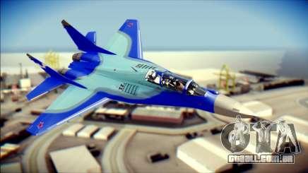 Mikoyan-Gurevich MIG-29K UB 341 Blue para GTA San Andreas