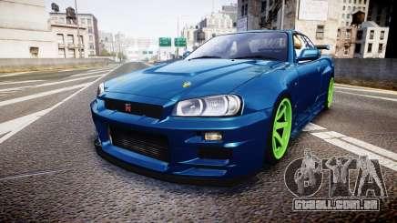 Nissan Skyline BNR34 GT-R V-SPECII 2002 para GTA 4