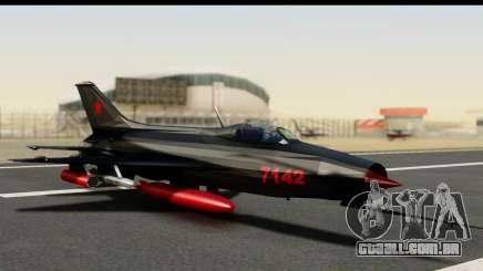 MIG-21F Fishbed B URSS Custom para GTA San Andreas