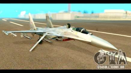 SU-37 Terminator Russian AF Camo para GTA San Andreas