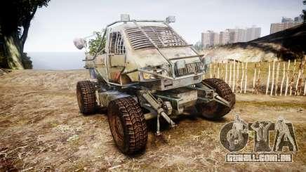 Militar caminhão blindado para GTA 4