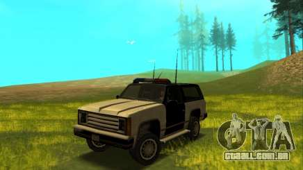Beta Police Ranger para GTA San Andreas