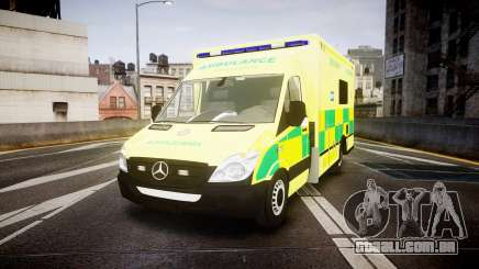 Mercedes-Benz Sprinter Ambulance [ELS] para GTA 4