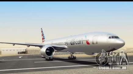 Boeing 777-200ER American Airlines para GTA San Andreas
